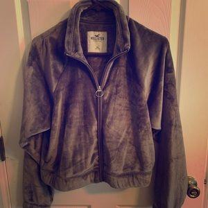 Hollister Zip Crop Jacket